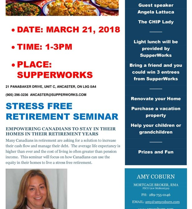 Stress Free Retirement Seminar