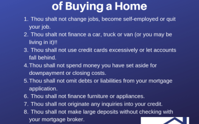 The Ten Commandments of Buying a Home