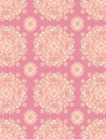 Yellow Pink Pattern 2015