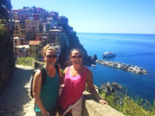 Ready to hike in Cinque Terre
