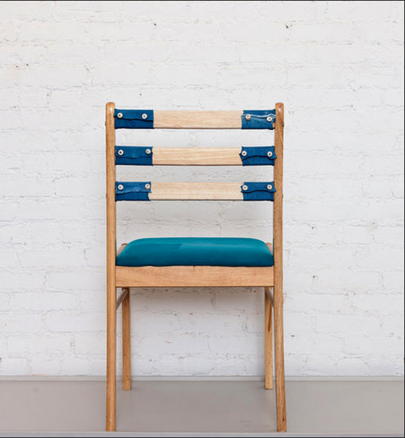 A chair by Will Luckman. Credit: Robert Wright for The New York Times