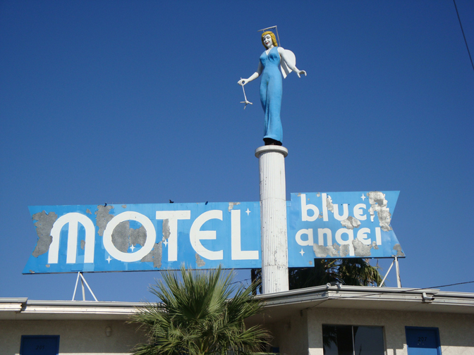Blue Angel Motel, Las Vegas