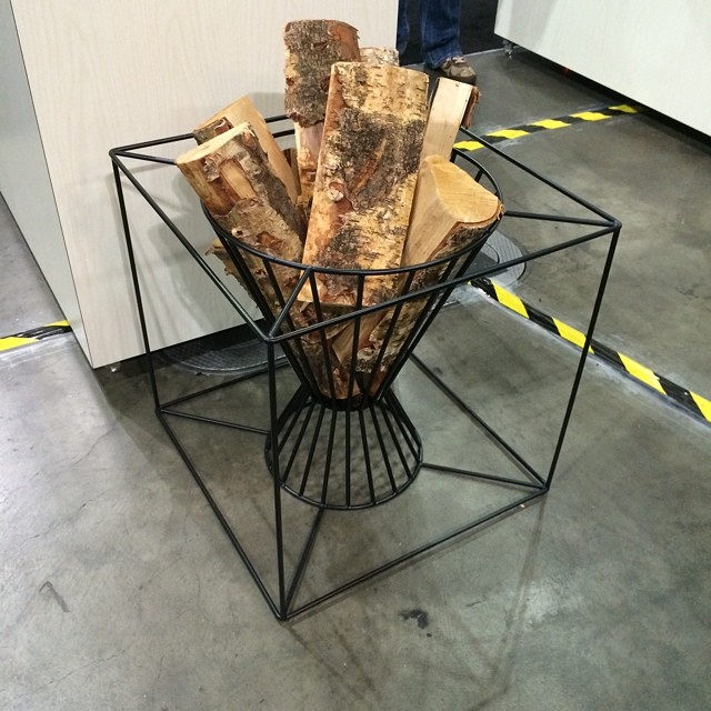 Boo Fire Basket by Martin Kallin for Skargaarden