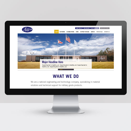 Website Design Avion Solutions