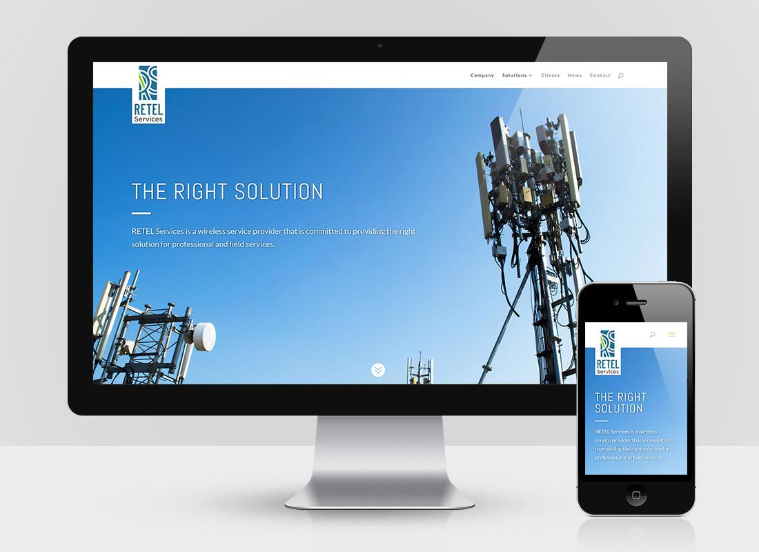 RETEL Services Website Design