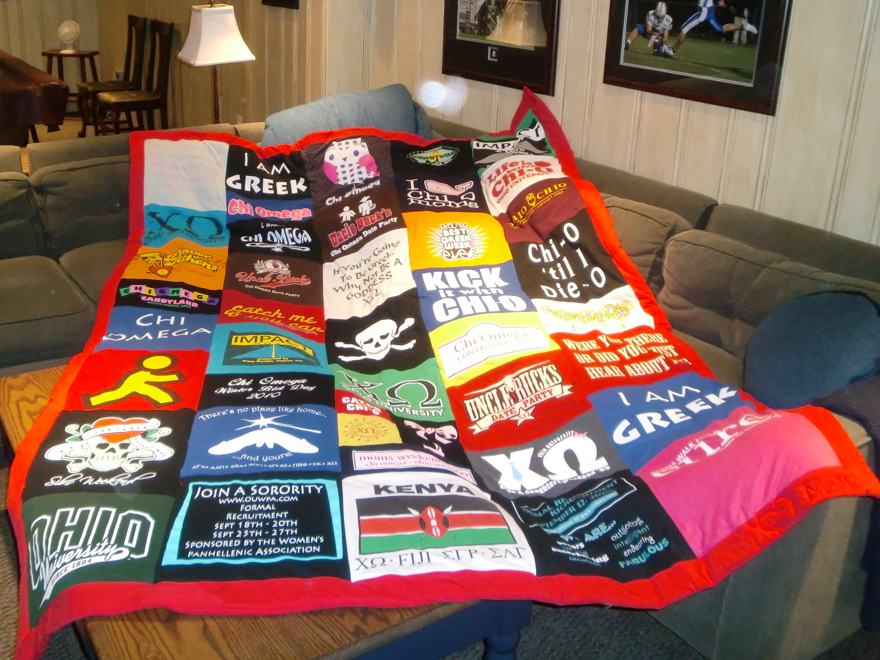 t-shirt quilts – the appreciator : quilts made from tee shirts - Adamdwight.com