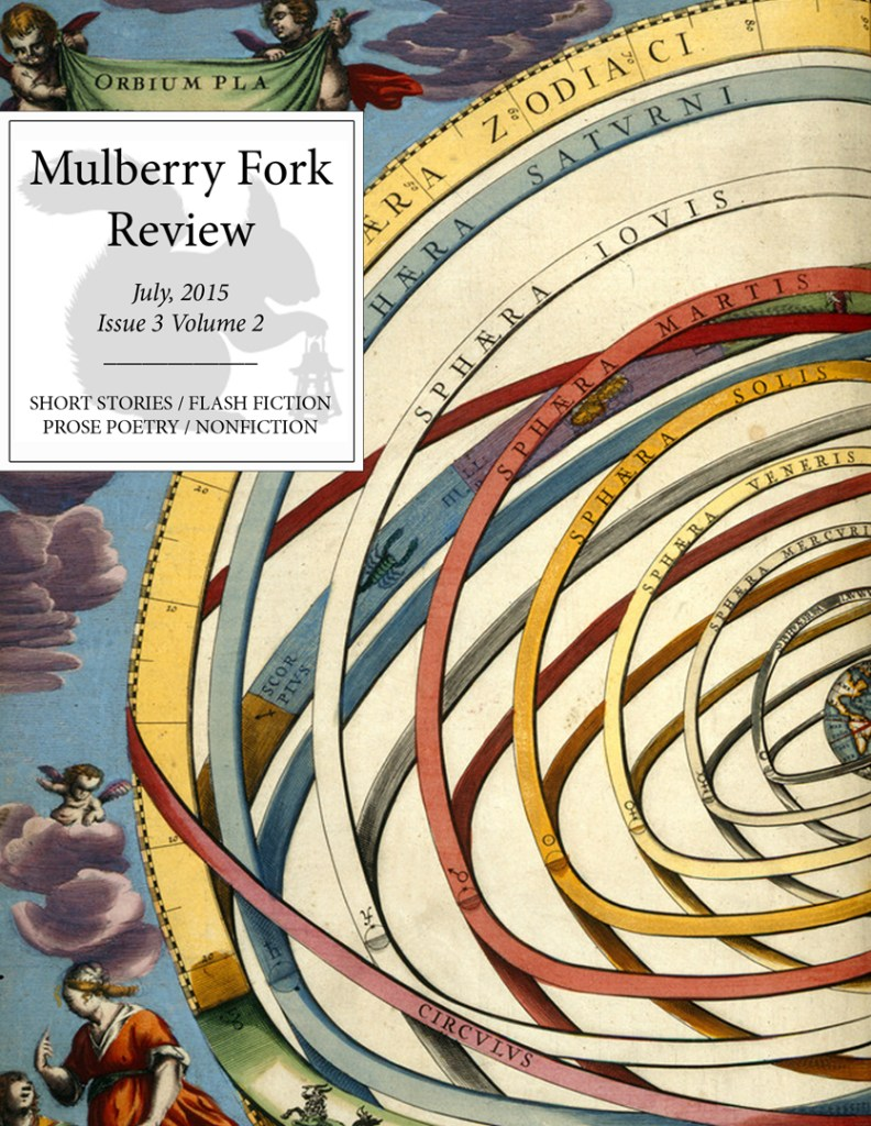 Mulberry Fork Review Issue 3 Volume 2 Cover