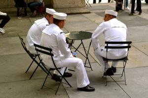 Sailors in New York