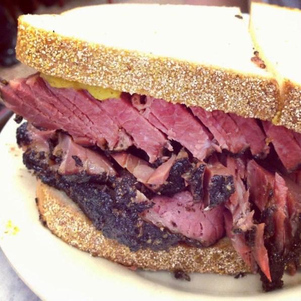 pastrami sandwich katz's deli