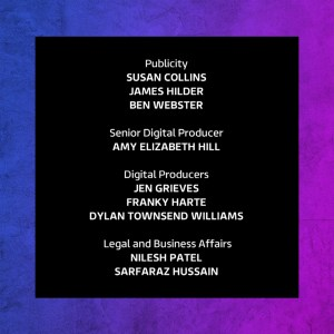 The Voice UK 2019 credits