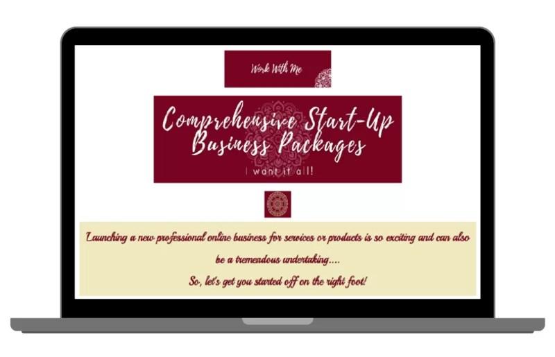 Web Designer for Start Up Businesses