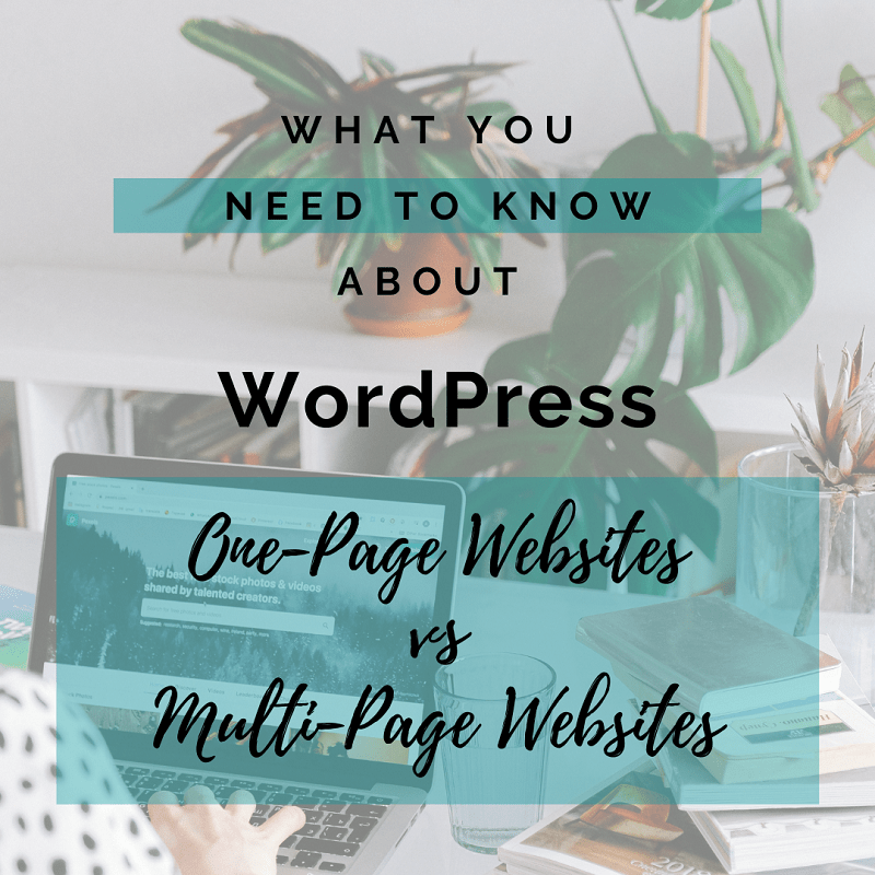 One-Page vs Multi-Page WordPress Websites