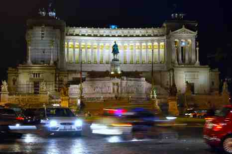 "The Altare della Patria also known as the Monumento Nazionale a Vittorio Emanuele II or ""Il Vittoriano"" or Victor Emmanuel Monument"
