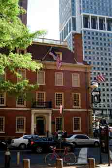 Fraunces Tavern -- where rebels used to meet, and Washington said farewell to his troops after the British had departed at the end of the war.