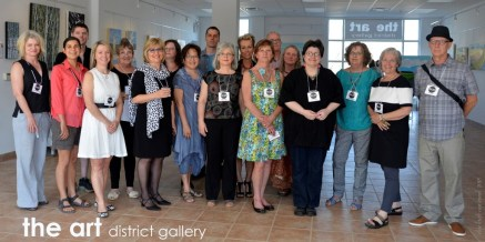 All of the ADG artists at our very first show in May 2015.