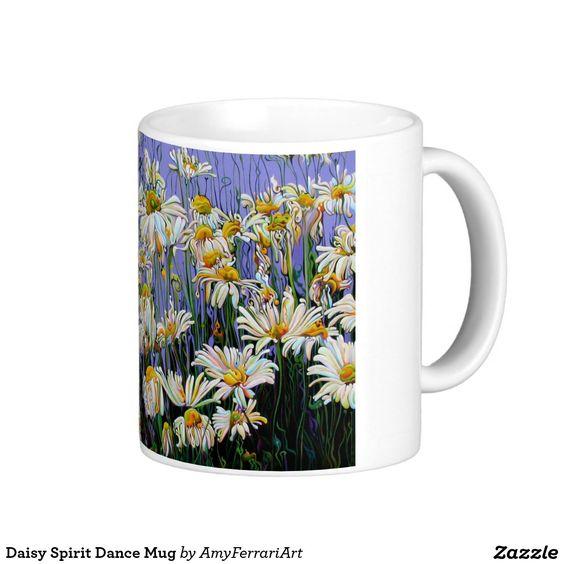 Daisy Spirit Sun Dance Mug from Zazzle
