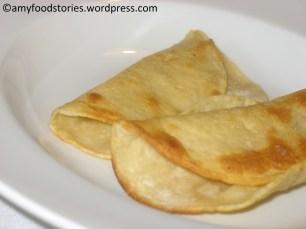Mexican Quesadillas Fritas (corn tortillas)