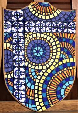 """Sevilla"" - 12x18"", acrylic on found object, 2016, $400"