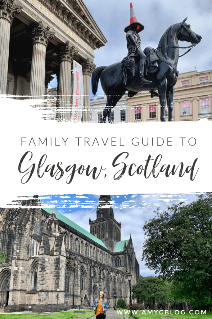 A family travel guide to Glasgow, Scotland! Take a look at some family friendly places to go and things to do as wells as restaurant recommendations and how to escape the rain!