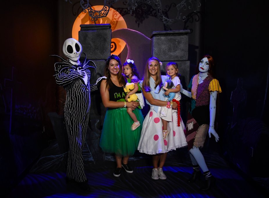 Jack and Sally are rare characters that you can find at Mickey's Not So Scary Halloween Party! Be sure to plan out your night before attending the party to get in all that you want to see with lighter crowds and special treats!