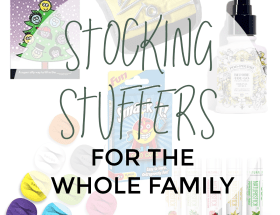 Check out these stocking stuff essentials for the whole family! You can find some fun, some useful and some you really just need! A little bit of everything that each person in your family can use and enjoy.
