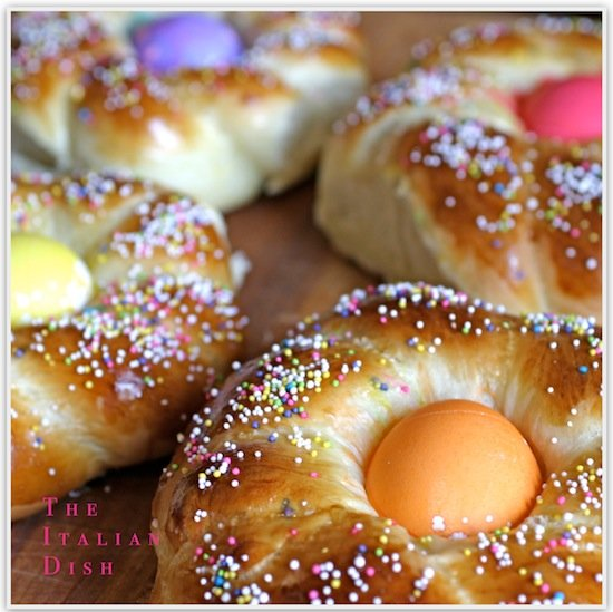 Italian Easter Bread. A fun Easter recipe to make as a family tradition