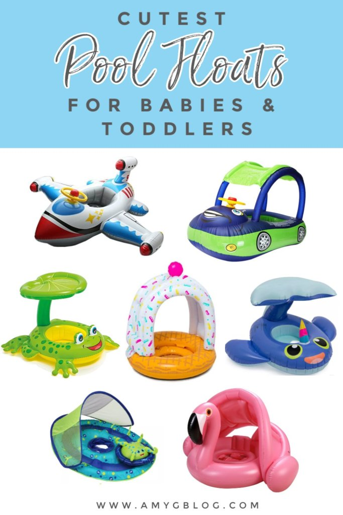 Looking for the cutest baby and toddler pool floats to hit the water this summer? Look no further at these adorable options as well as everything else you need for baby to be comfortable at the pool.
