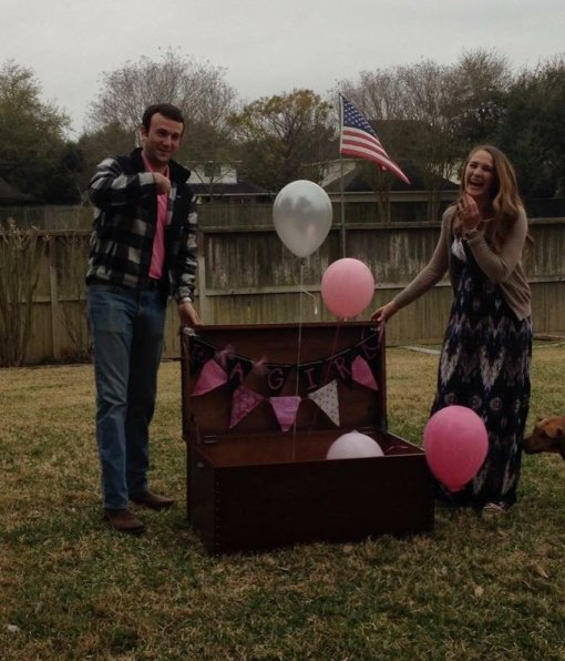 First baby gender reveal. Unexpected ways the 3rd pregnancy is different