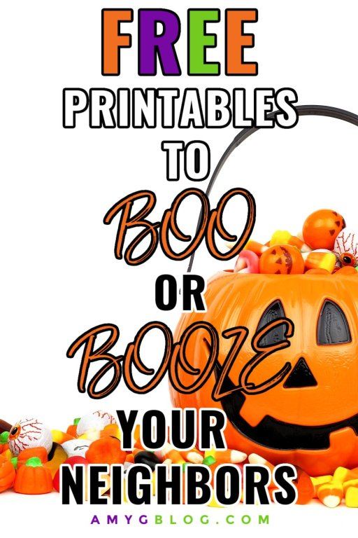 Boo your neighbors this Halloween! Find out how to BOO, what to get and fun, free printables to include!