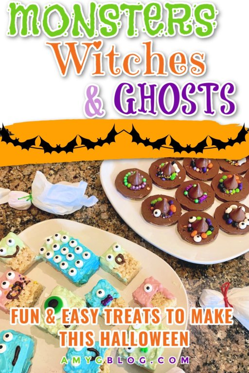 Try these fun Halloween treats with your kids this year! They're quick, easy and tasty too. #halloweenactivities #halloweenfunforkids