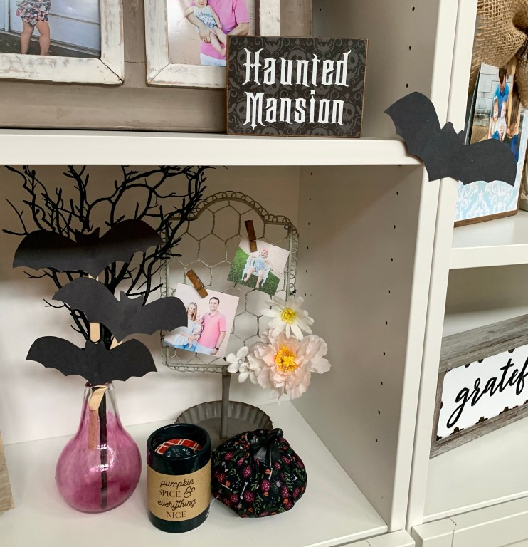 Halloween Crafts that Double as Decor - Bat on a Stick