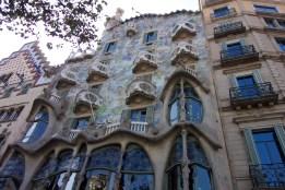 Yet another Gaudi house (Casa Batlló)