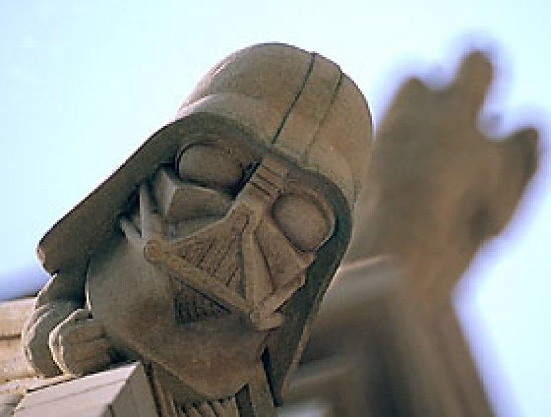 Darth Vader Washington DC National Cathedral