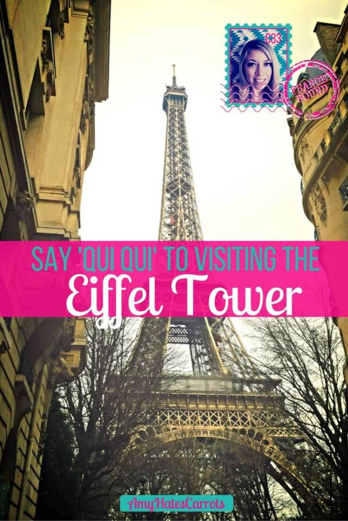 Say 'qui qui' to visiting the Eiffel Tower, or visit it multiple times each day as I did. I Oh Paris, you are so lovely!