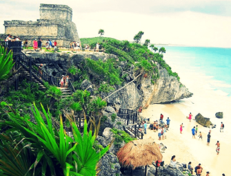 Exploring The Mayan Ruins of Tulum in Mexico