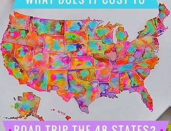 Here Is Exactly What It Cost For My 48 State Road Trip