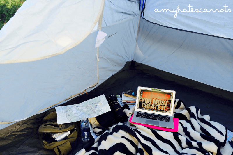 Working from my tent while road trippin' | Here is exactly what it cost for my 48 State road trip across America