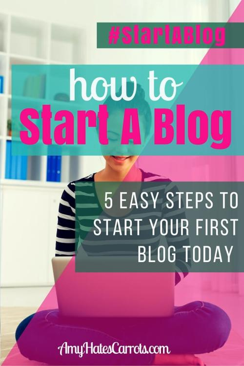How To Start A Blog | 5 Easy Steps To Start Your First Blog Today