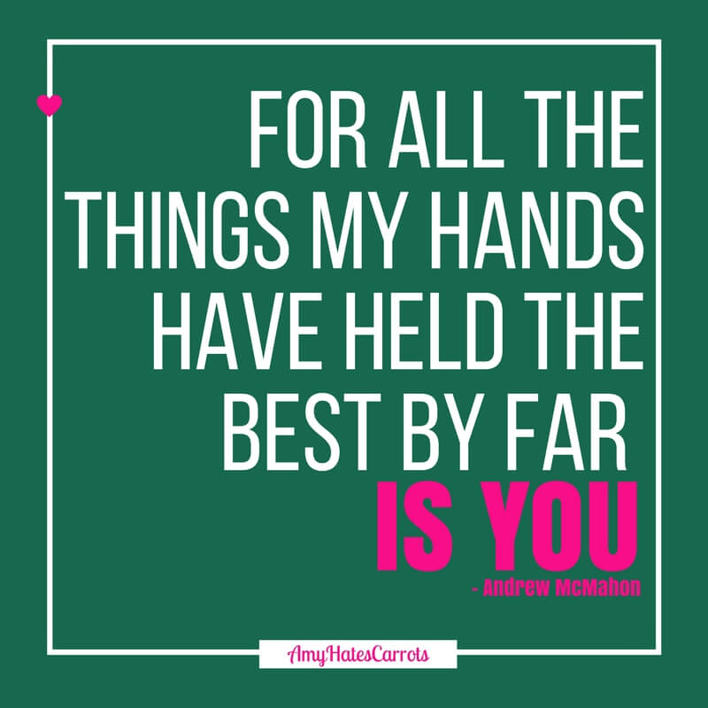 For all the things my hands have held the best by far is you | Here is how to become fluent in the love languages and better all of your relationships.