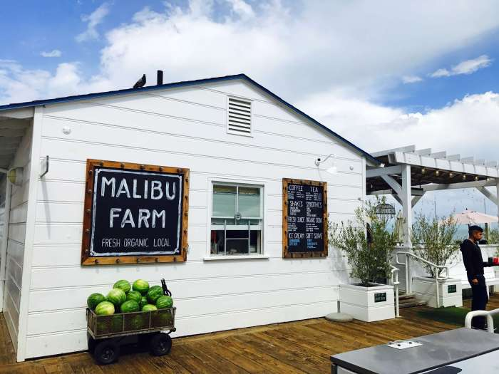 Malibu Farms - A day trip to Malibu is always a great idea! 21 miles of scenic beauty & tons of yummy eats + drinks does not disappoint! #californialovin