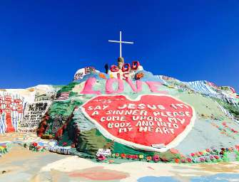 Day Trip To Salvation Mountain