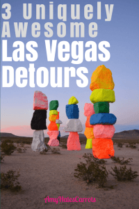 I understand the need to get to Las Vegas & get the party started, BUT try stopping at these awesomely unique detours on your next visit. You'll love 'em!