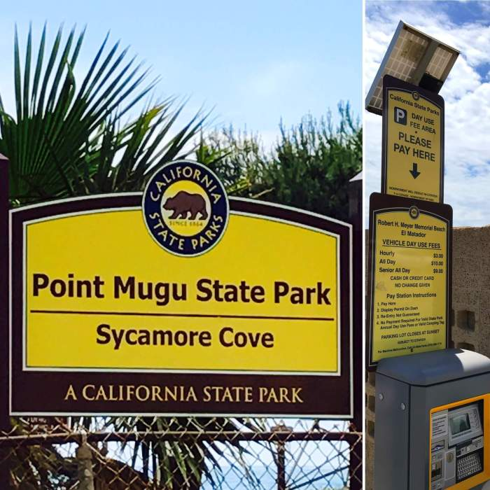 Point Mugu Beach in Malibu - A day trip to Malibu is always a great idea! 21 miles of scenic beauty & tons of yummy eats + drinks does not disappoint! #californialovin