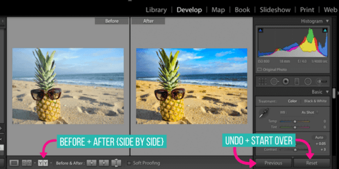 There are a lot of awesome photo editing options out there, BUT using Adobe's Lightroom takes the cake! Here's how to edit photos in Lightroom - the basics.