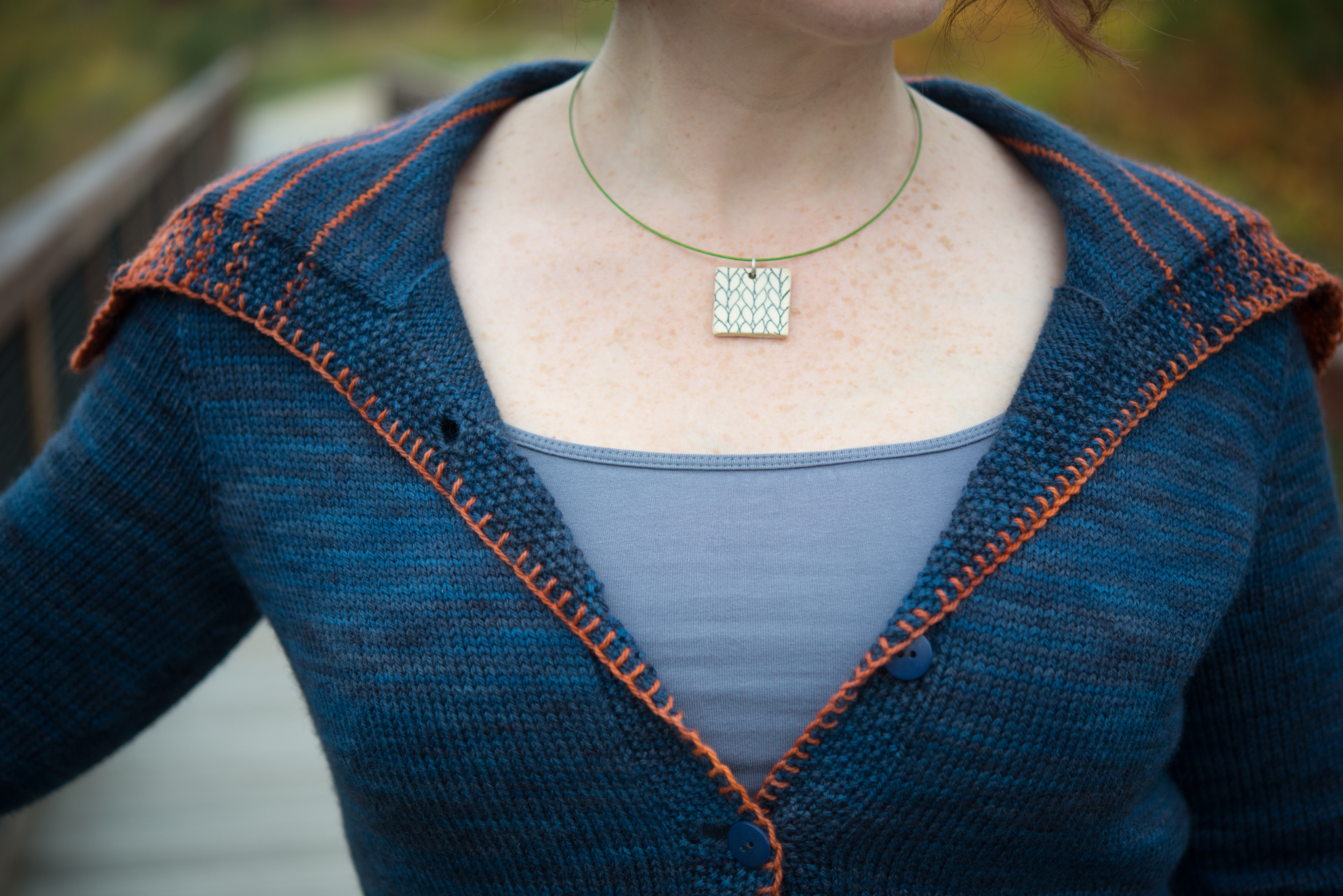 Knitting A Sweater Neckline : The ins & outs of necklines amy herzog designs