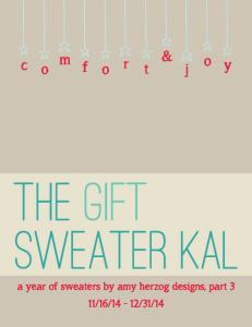 Gift Sweater KAL