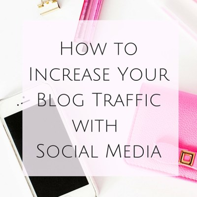 Blogging and social media fit together like Kate Spade and gold…perfectly. Keep reading to see How to Increase Your Blog Traffic with Social Media.
