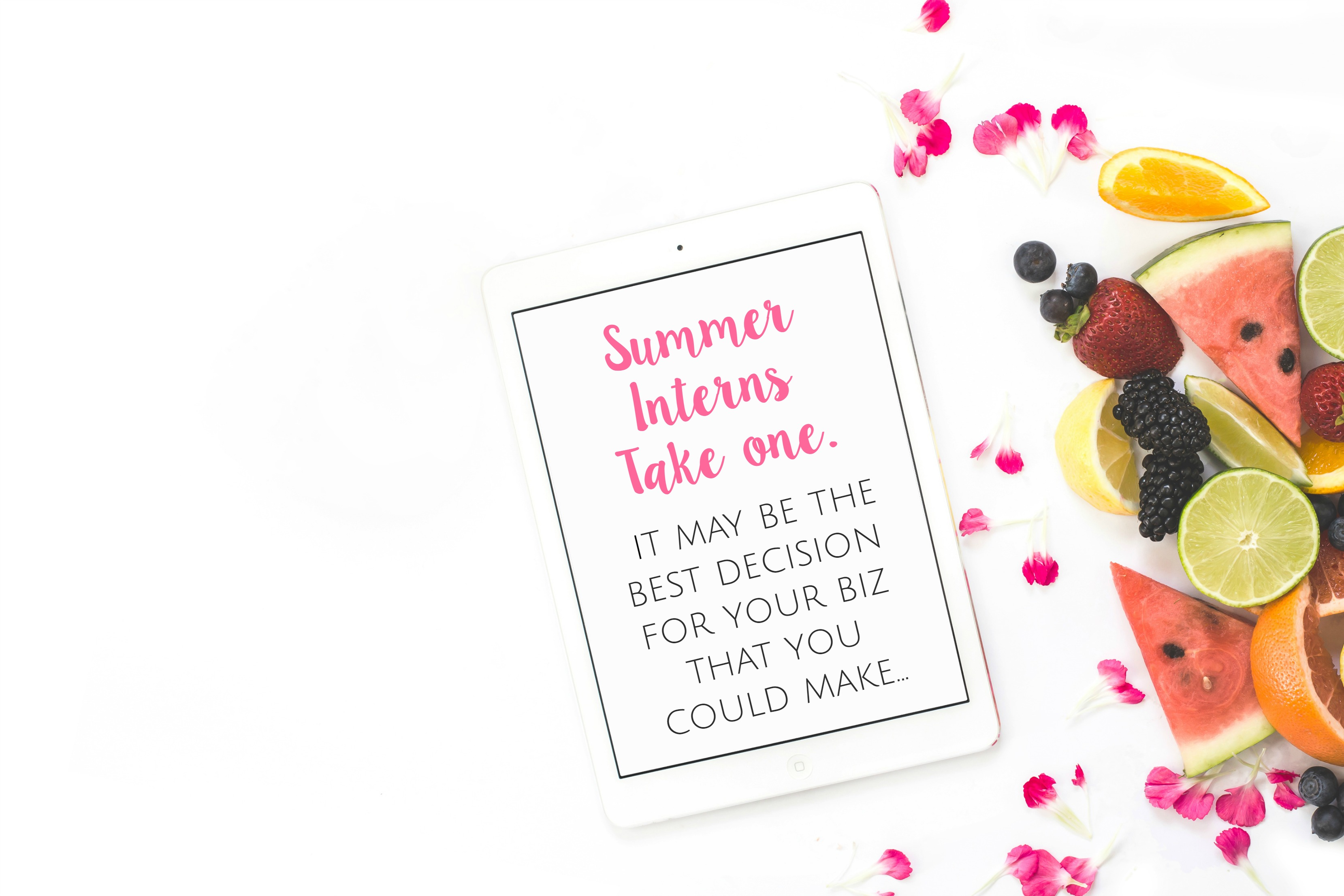 Need help with your never-ending business tasks? Go here to see why you should hire an intern for your blog this summer - you will never look back!