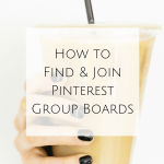 How to Find and Join Pinterest Group Boards