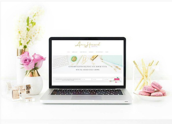Wondering how to add a website screenshot to a stock photo mockup? Here is the easiest tutorial plus a video from the Haute Chocolate styled stock library!